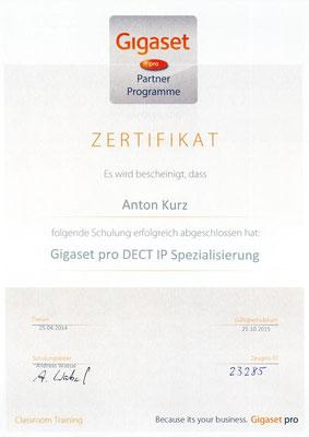 Gigaset pro DECT IP Spezialisierung