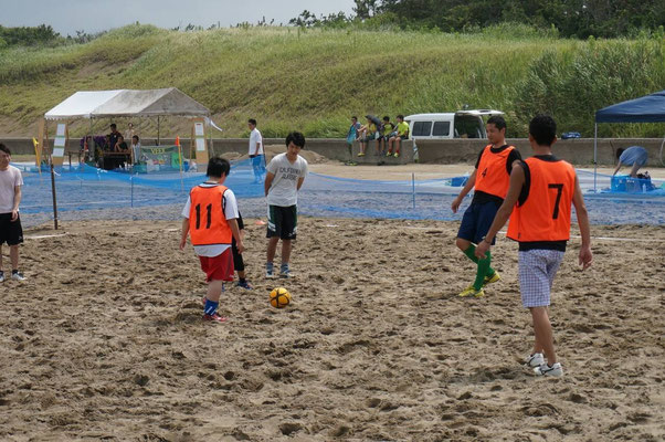 MIKAWA ビーチサッカー2014 in CCZ