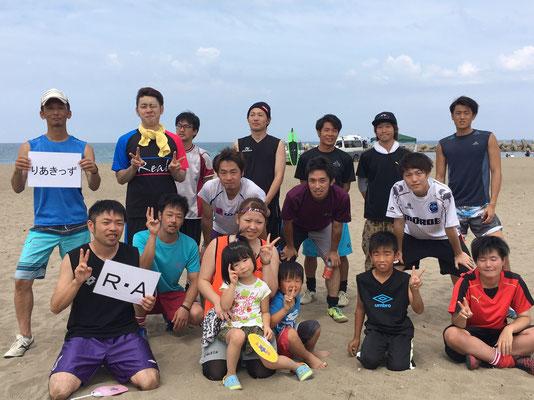 CCZフェスティバル2016ビーチサッカー