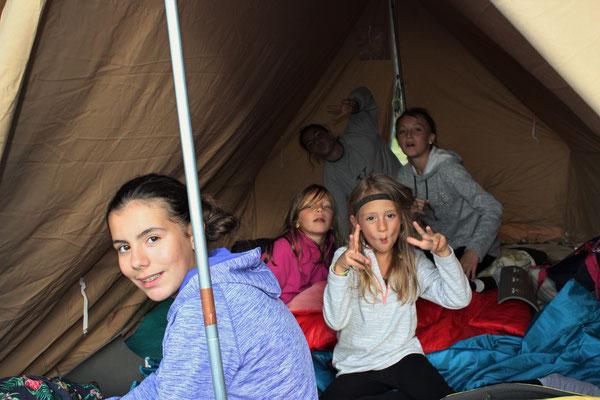 La tente des filles