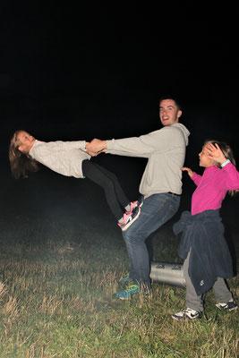 De vrais acrobates