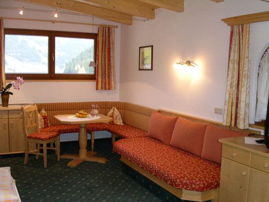 Wohnbereich Bergkristall-Suite