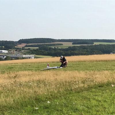Der Pilot und seine Maschine