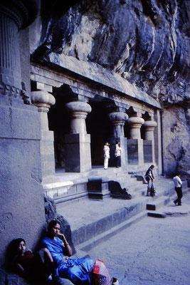Mumbai - Grotte di Elefantina - India 1987