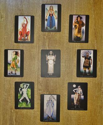 """Karten """"Haus der Frauen"""" von Carolyn Hillyer"""