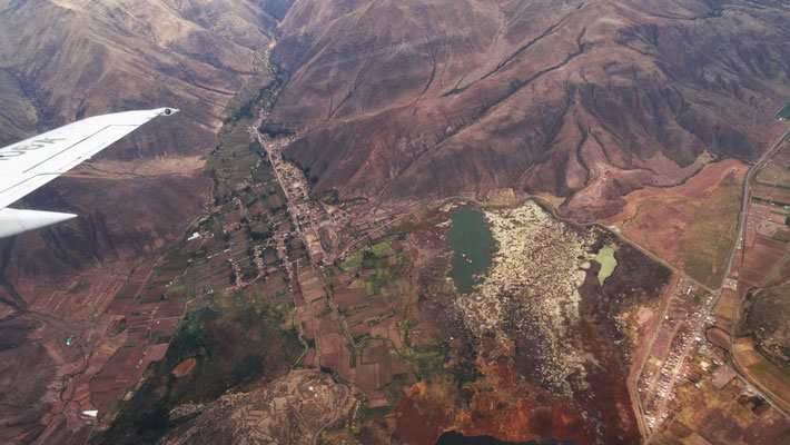 über den Bergen um Cusco