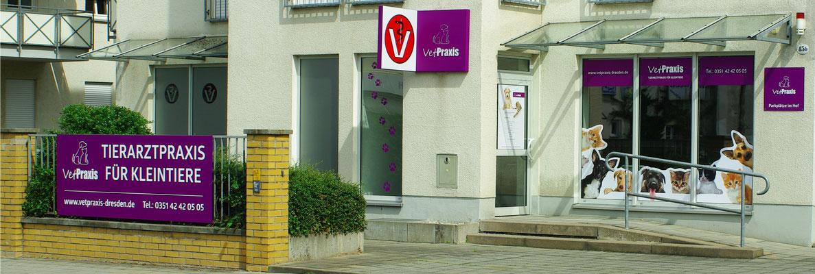 VetPraxis Tierarztpraxis für Kleintiere, Tharandter Str. 45B, Dresden