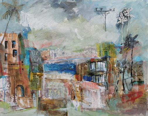 2020 Rueda de Casino, 80x100 cm, Collage, Mixed Media