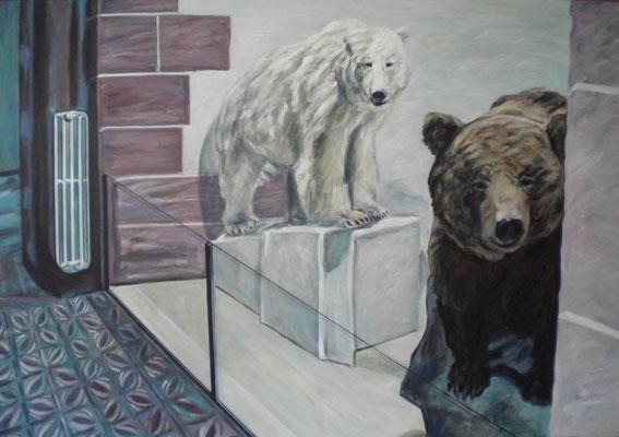 Bären. 2016. 70 x 100cm