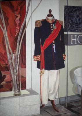 Die Uniform. 2015. 100 x 70cm