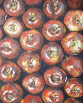 Äpfel. 2015. 50 x 40cm