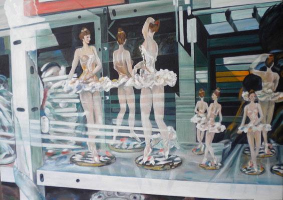 Hinter Glas III. 2016. 50 x 70cm