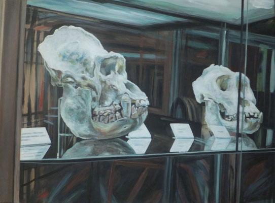 Hinter Glas II. 2015. 50 x 70cm