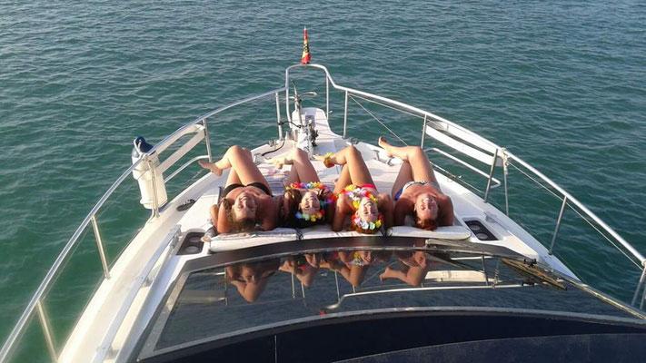 despedida de soltera en barco Cadiz