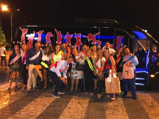 bus disco Cadiz
