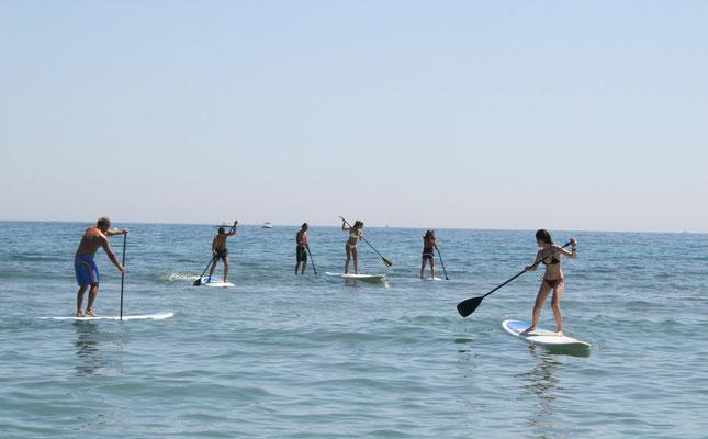 alquiler de paddle surf en Cádiz