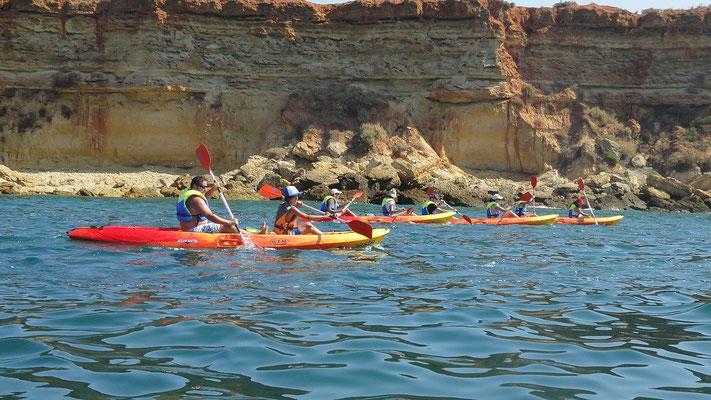 Alquiler de kayaks en Cádiz