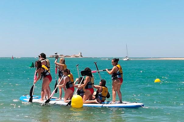 Paddle surf xxl en Cadiz