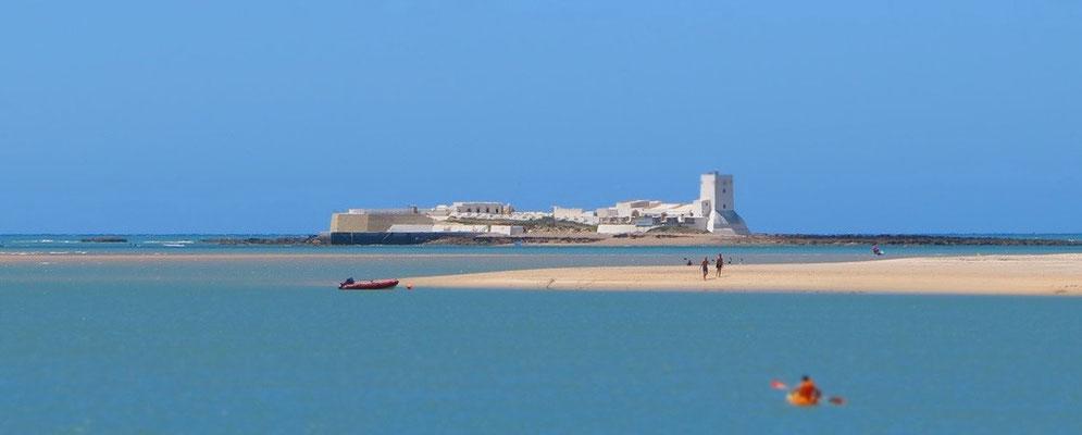 Ruta en paddle surf en Cádiz