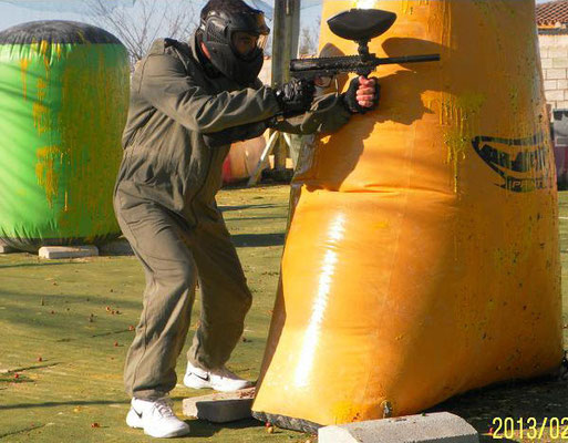 hinchables de paintball en Cádiz