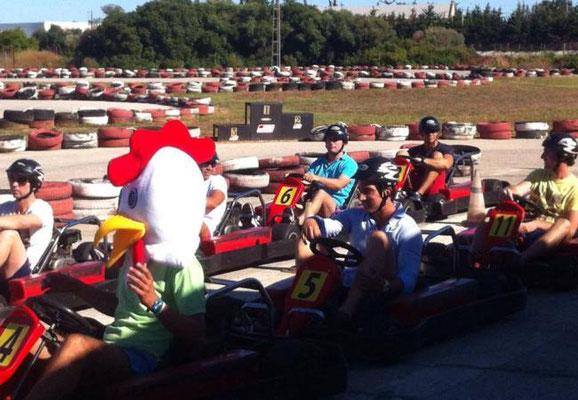 Circuito de kart en Chiclana de la frontera