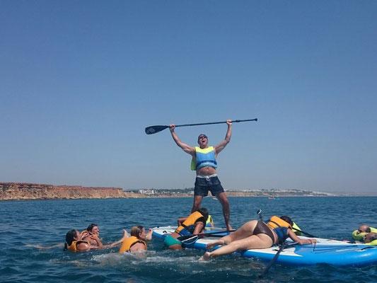 Hacer paddle surf en Cádiz
