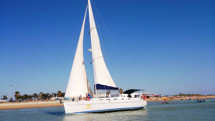 alquiler de veleros en Chiclana