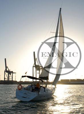 alquiler de barco en Cádiz con patrón
