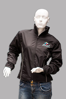chaqueta lisa reflectiva