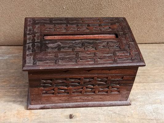 Cigarrera de madera