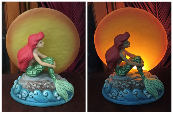 Figura luminosa Ariel