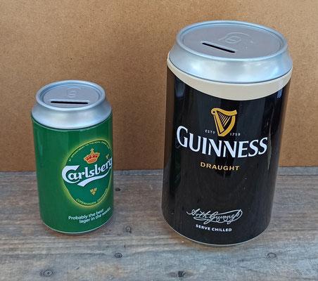 Huchas cerveza lata