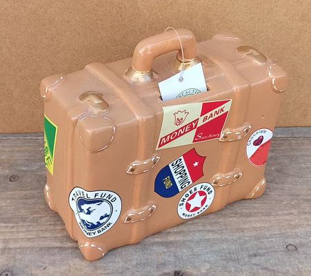 Hucha maleta cerámica
