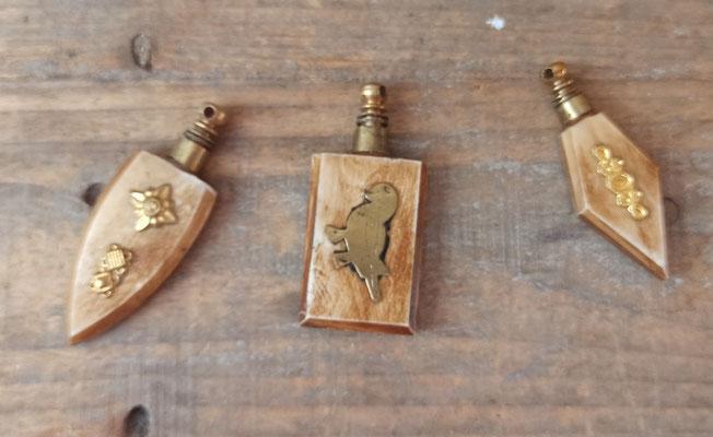 Perfumeras mini para colgar