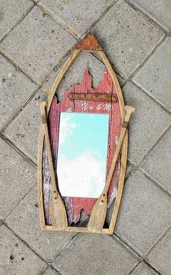 Espejo madera. Ref 10751. 48x22