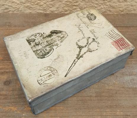 Caja costurero metal
