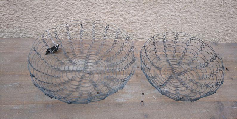 Frutero de alambre 2 tamaños