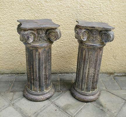 Columnas de resina. 42 alto x 24x24