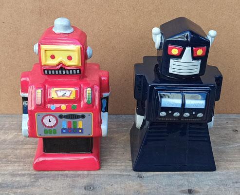 Huchas robot cerámica