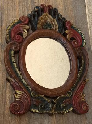 Espejo tailandés de madera. Ref 874. 33x25