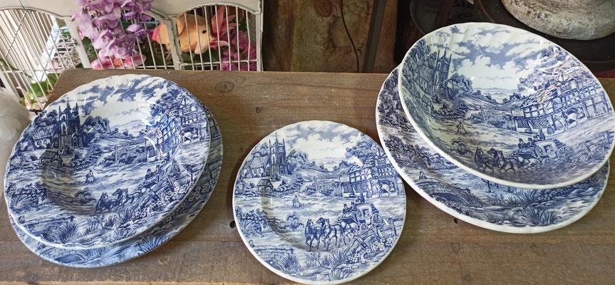 Vajilla 20 piezas (6 servicios) porcelana italiana