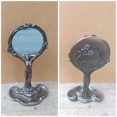 Espejo resina art deco. Ref 12286. 30x16