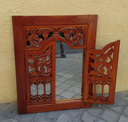 "Espejo ""ventana"" madera"