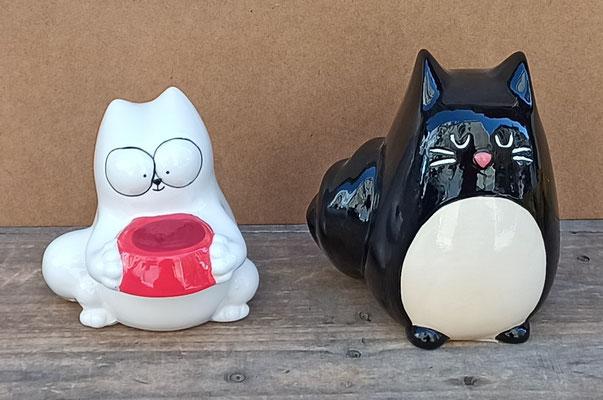 Huchas gato Simon y cerámica