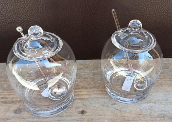 Tarros cristal para aceitunas