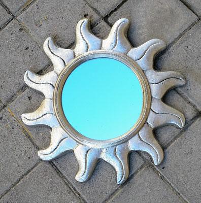 Espejo sol plata