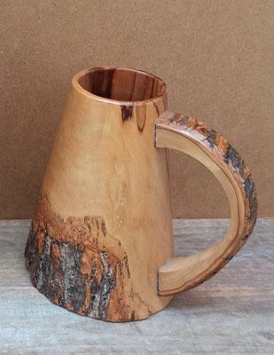 Jarra de cerveza de madera