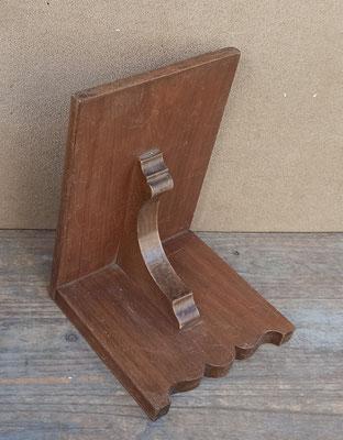 Ménsula de madera. Ref 120. 17x17x23 fondo