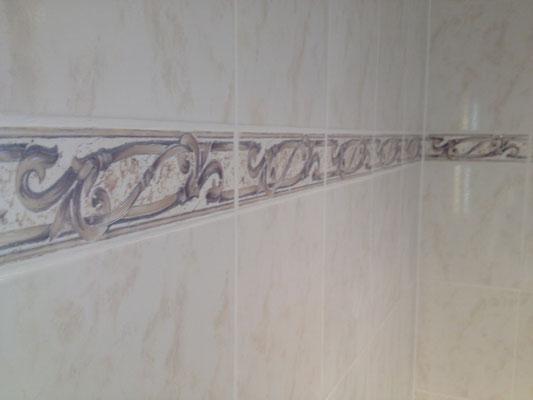 Pose de faience salle de bain Albertus rénovation
