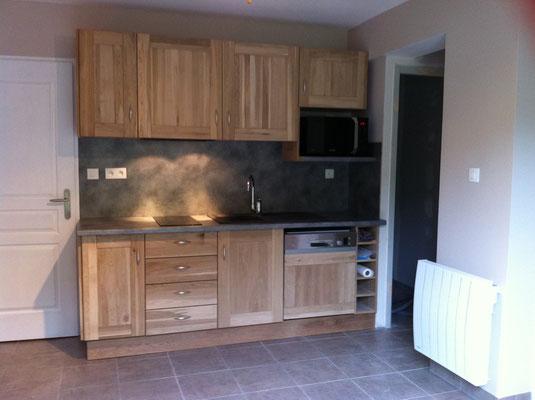 Albertus rénovation création d'une cuisine à savines le lac après travaux